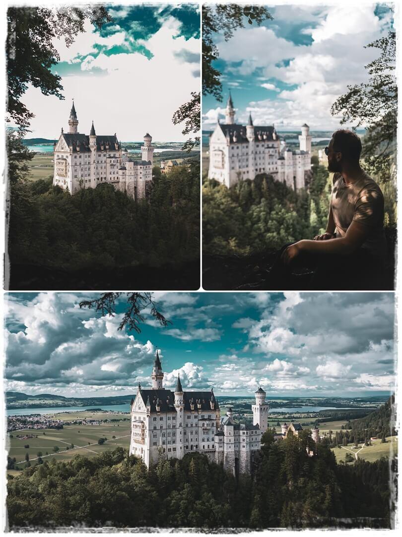 1. geheimer Foto Spot mit bestenm Winkel aufs Schloss Neuschwanstein