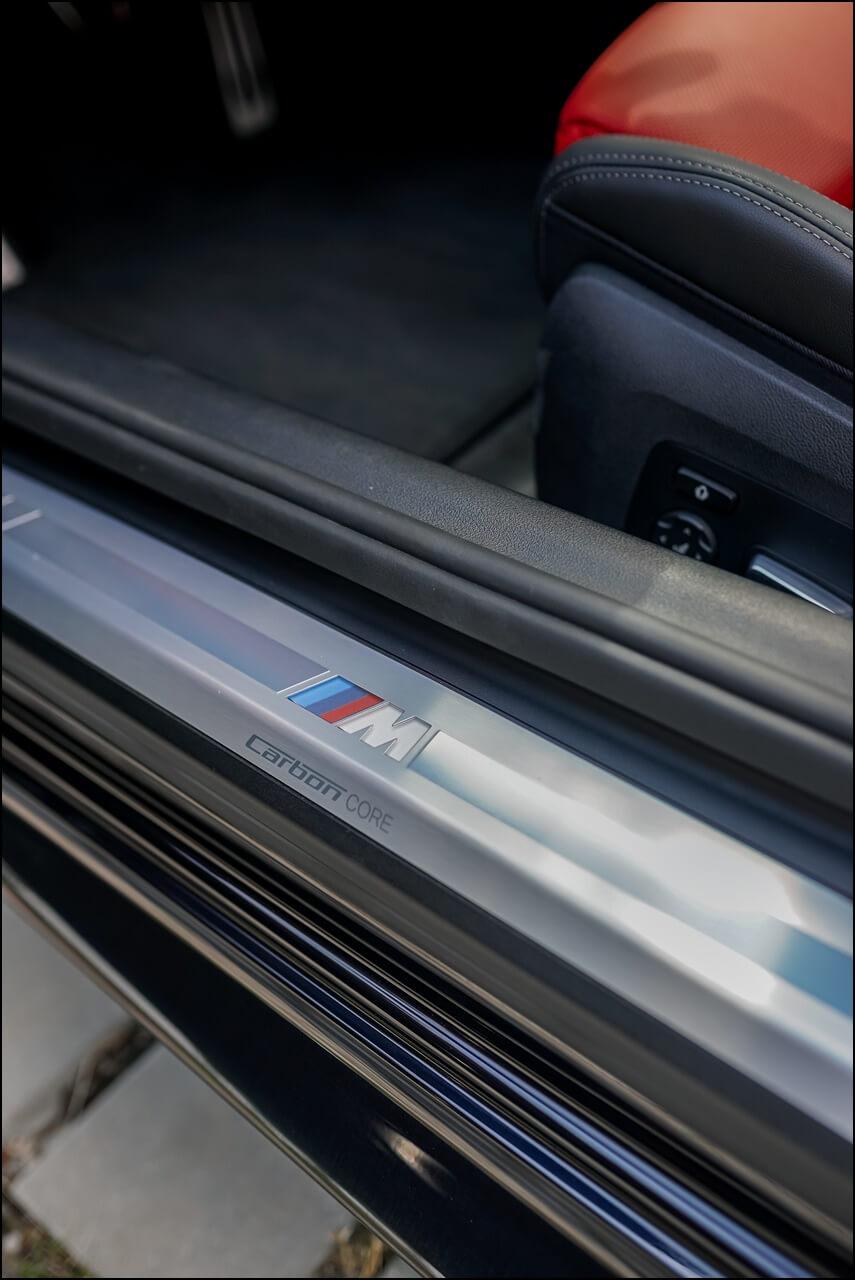 M Carbon Core Karosserie des 8er BMWs