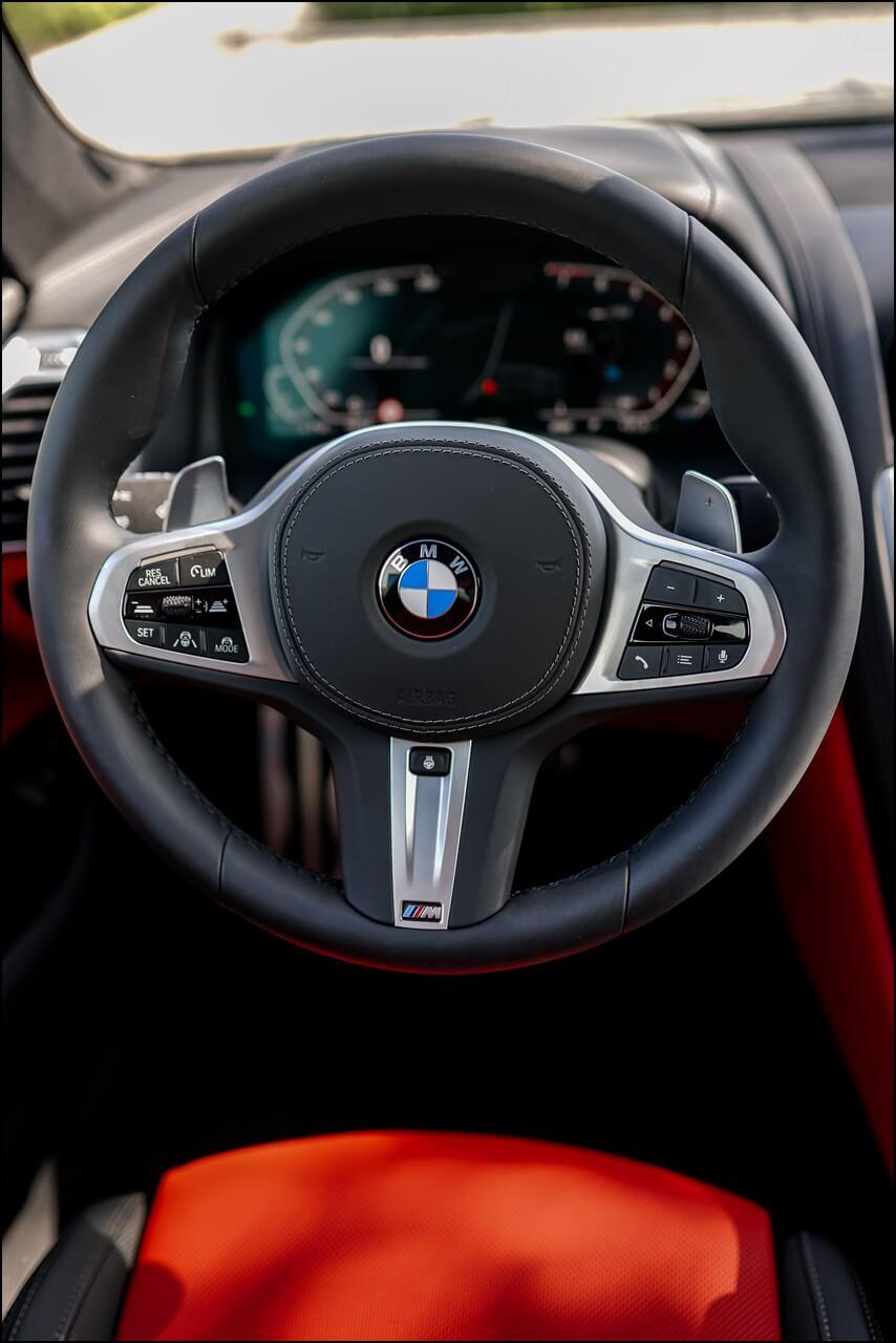 BMW M Lederlenkrad mit Lenkradheizung