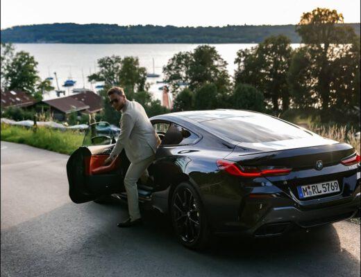BMW 840i M Paket Erfahrung und Impressionen in Carbonschwarz Metallic