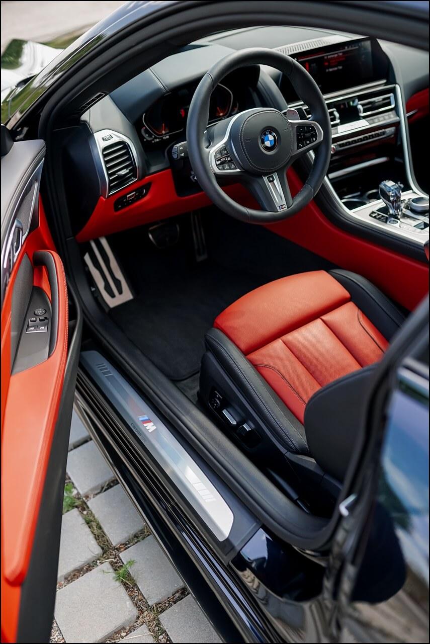 POV: Einstieg BMW 840i