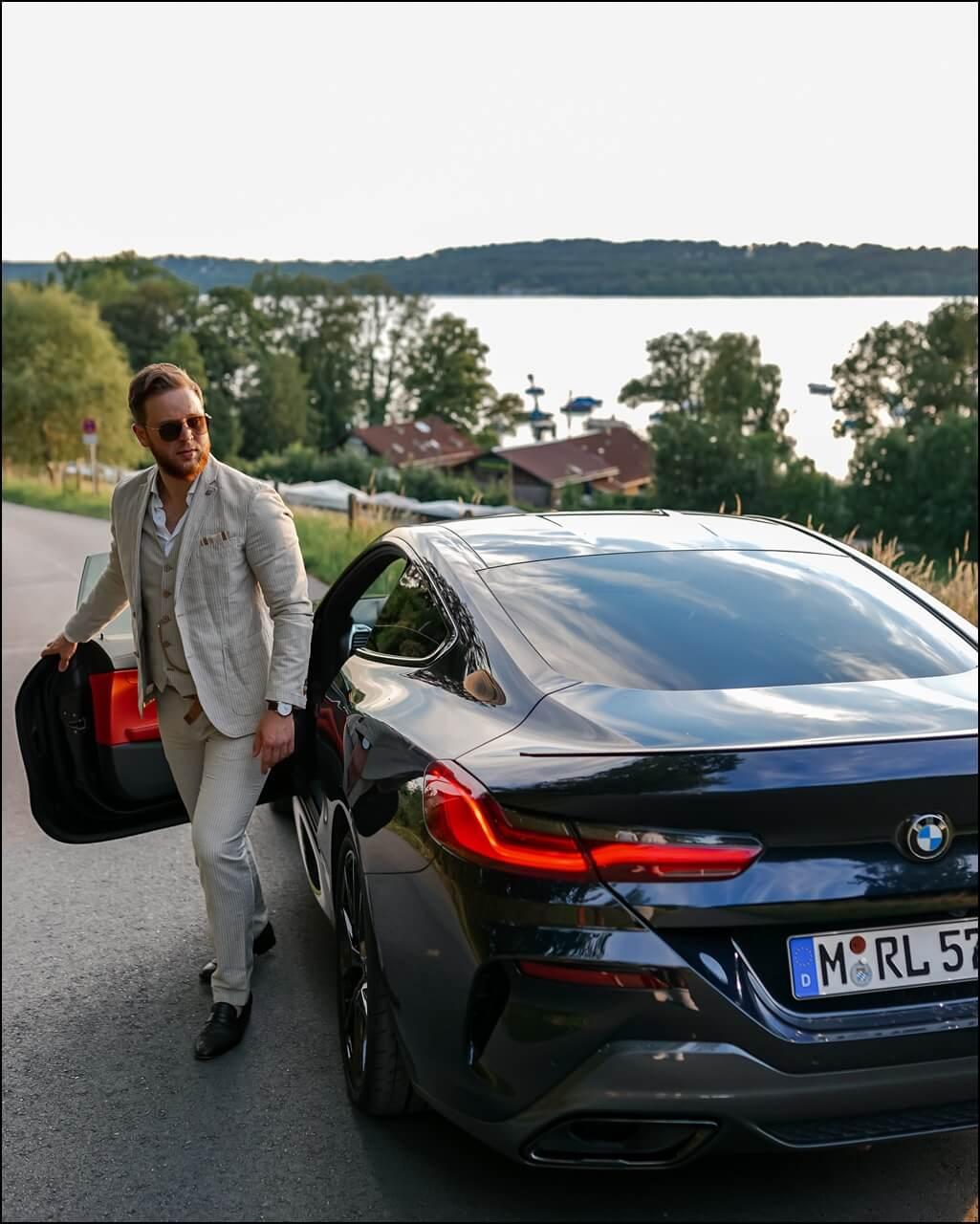 BMW 840i Trip zum Starnberger See