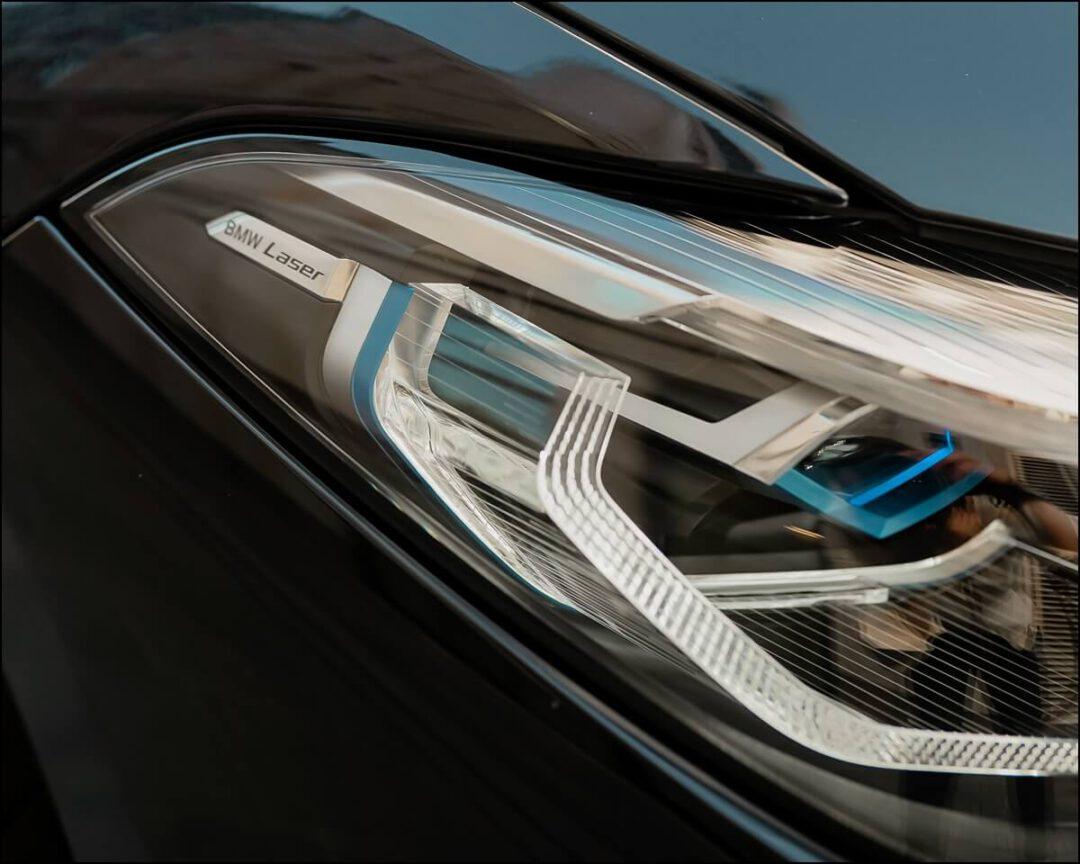 BMW Laserlicht am 8er BMW sorgt für über 600 m helles Licht