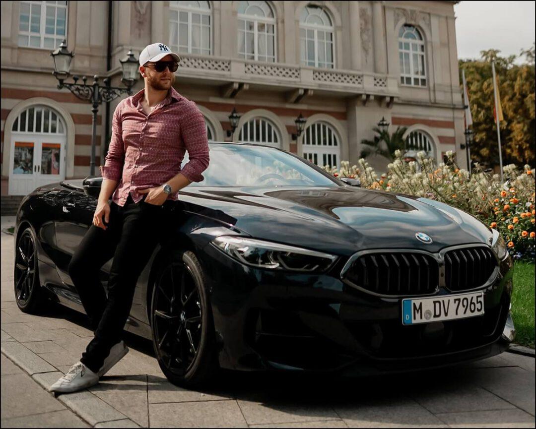 BMW M850i Cabrio Erfahrungen in Carbonschwarz