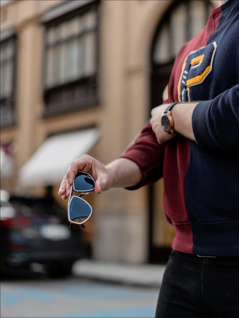 BOSS 1192 schwarz gold Sonnenbrille