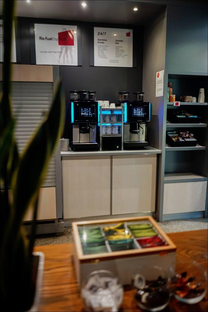 24/7 Kaffee inklusive an der WMF Kaffeemaschine