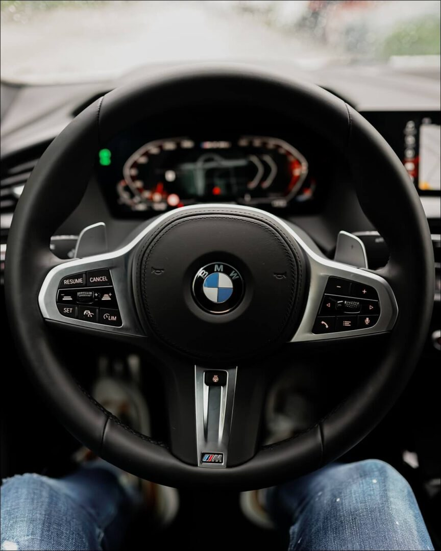 BMW M Sportlenkrad mit integrierter Lenkradheizung